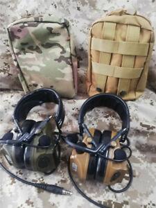 TCA /Comtac III Headset Military Standard Plug Tactical headphones
