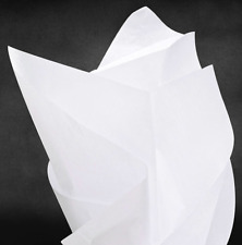 Tissue Paper Pom Gift White Color 15 Inch x 20 Inch 100 Sheets Bulk Pack