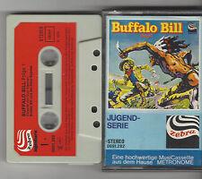 MC Hörspiel-  Buffalo Bill Folge 1 Und der Pony Express / Kampf Siux   Zebra