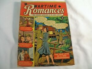 Golden Age Comic Book, Wartime Romances #4, Jan. 1952