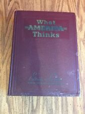 What America Thinks 1941 Editorials and Cartoons Munich Crisis WWII
