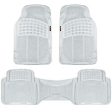 Car Rubber Mats - Eco Friendly Odorless Clear 3 Piece Trimmable 2 Front 1 Runner