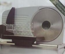 Aluminium Allesschneider 200 Watt Alles Schneider Wellenschliffmesser Edelstahl