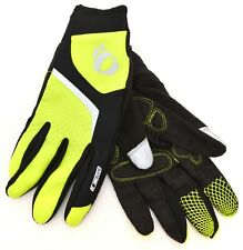 Pearl Izumi ELITE Softshell Lite Full Finger Cycling Gloves Men MEDIUM Neon MTB