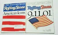 Rolling Stone Magazine American Icons Patriot 9.11.01 Flag 2001 & 2003