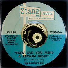 Spoonbread 45 How Can You Mend A Broken Heart I'm The One Unplayed Glossy Mint-