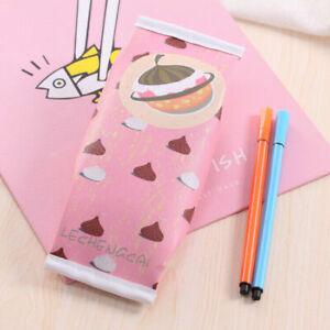 Creative Cookies Pen Bags Waterproof Stationery Bags Pencil Case School Supplies