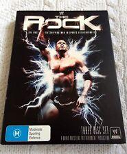WWW-THE ROCK– DVD, 3-DISC SET, REGION-4, LIKE NEW, FREE POST AUS-WIDE