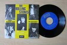 "THE ROLLING STONES Street Fighting Man Belgium 7"" in picture sleeve Decca 1968"