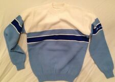 Vintage 70's 80's Men's POLARIS Snowmobile Logo Acrylic Knit Sweater M S Fit