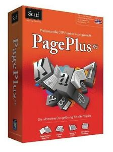 Avanquest PagePlus X5 Professionele  Desktop Publishing Design Layout
