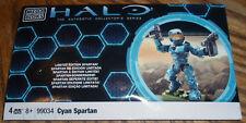 CYAN SPARTAN mega bloks HALO 99034 Limited Edition NEW