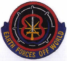 B5 Babylon 5 Earth Forces Off World Embroidered Iron-on Patch