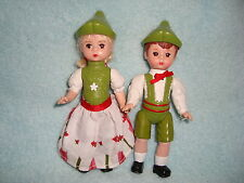 Mcdonald's Madame Alexander 2010 dolls Hansel & Gretel Lot 2 pcs