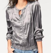 593645-13 aniston cazadora/chaqueta talla 34 color plata nuevo