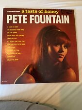 a taste of honey PETE FOUNTAIN LP CRL 57486 CORAL RECORDS