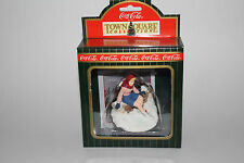 COCA COLA CHRISTMAS TOWN SQUARE COLLECTION, SKATER PAUSING FOR COCA COLA, NIB