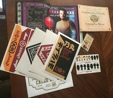 Firefly Loot Crate~Extras~Cargo Labels, Jayne Poster, Flux Cards, COV & More