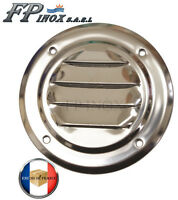 Grille Ronde 65 mm inox 316 Grille aération