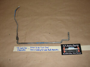 73 Cadillac Eldorado LEFT SIDE FRONT INSIDE LOCKING KNOB TO LOCK ROD ASSEMBLY