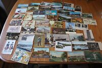 Old Postcard Lot of Unique cards USA & International travel Vintage EARLY 1900s