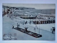 FANO spiaggia Pesaro Urbino vecchia cartolina 96