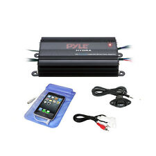 Bluetooth Marine Amplifier Kit, 4-Ch. Waterproof Audio Power Amp System