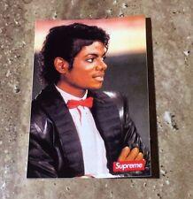 Supreme SS17 Michael Jackson Box Logo Sticker