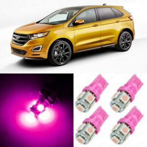 14 x Ultra PINK Interior LED Lights Package For 2007 - 2015 Ford Edge +TOOL