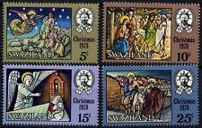 Swaziland 1978 SG#306-9 Christmas MNH Set #D58685