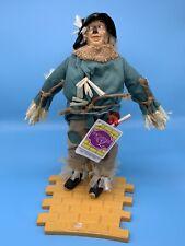1987 Hamilton Gifts Presents Wizard Of Oz Scarecrow Doll