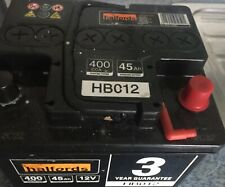 HALFORDS HB012 Battery Brand new