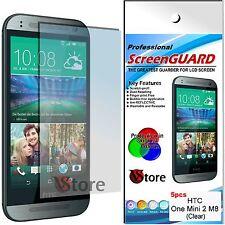 5 Pellicola Per HTC One Mini 2 - M8 Mini Proteggi Salva Schermo Display