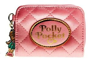 Polly Pocket Pink Quilted Clutch Wallet