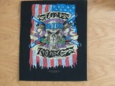 GUNS N ROSES - FLAG GIANT BACK PATCH (NEW) & OFFICIAL BAND MERCHANDISE