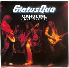 "Status Quo - Caroline (Live At The N.E.C.) - 7"" Vinyl Record Single"