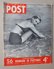 ANCIEN MAGAZINE - PICTURE POST - N° 10 VOL. 47 - 3 JUIN 1950 *