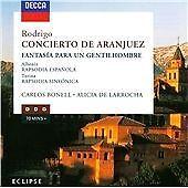 Albéniz/Rodrigo/Turina: Rapsodia Española/Concierto de Aranjuez/Rapsodia Sinfoni