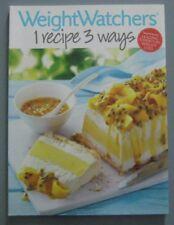 Weight Watchers 1 Recipe 3 Ways Large Paperback 20% Bulk Book Discount