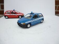BURAGO 1/24 FIAT PUNTO POLIZIA POLICE CAR  NICE CONDITION
