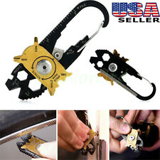 20 In 1 Stainless Steel Screwdriver Wrench Opener Keychain Pocket EDC Multi Tool