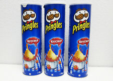 Pringles Ketchup Potato Chips - PACK of 3 Cans - FREE SHIPPING