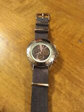 Toy Watch Chronograph Men's watch, running with new battery I