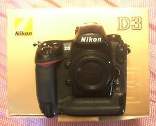 Nikon D D3 12.1 MP SLR-Digitalkamera - Vollformat, Fullframe Body