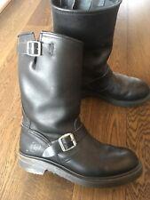 Sendra of Spain Engineer Boots Black UK Size 9.5,Trade Samples (mark on heel)