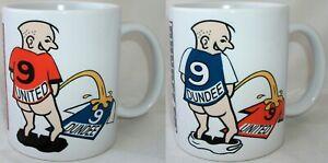 Funny Scottish Dundee Football United FC Rivalry Shirt Coffee Tea Mug Scotland
