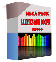 Packet 15K of Sample and Loops, for create music,HQ WAV,Sound Track, wav samples