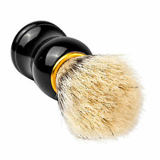 Herren Black Badger Haar Rasierpinsel in Ebenholz Griff Bart Bürste brush Pinsel