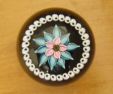 """Ltd Ed Caithness """"Flourish"""" Floral Paperweight(155/750) - <3""""(7.5cms)"""