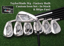 "TaylorMade M4 Iron Set Custom Build +1/2"", 1º Up Fuji Atmos Graphite Regular NEW"